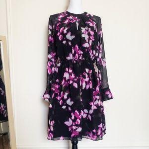 Cynthia Steffe Cara Watercolor Floral Dress 6